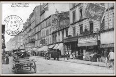 Rue d'Aubervilliers 1905