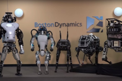 Boston Dynamics - société revendu par Google à Softbank