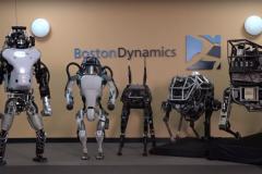 Boston Dynamics - société revendu par Google à Softbank