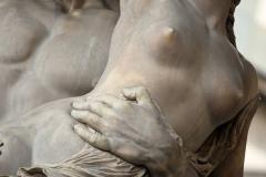 Achilles and Polyxena, sculpture by Pio Fedi