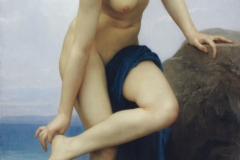After the Bath,  William-Adolphe Bouguereau, 1875