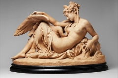 Albert-Ernest Carrier-Belleuse, Leda and the Swan, 1870