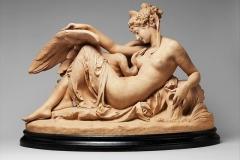 Albert-Ernest Carrier-Belleuse, Leda and the Swan, 1870