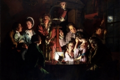 An Experiment on a Bird in the Air Pump, Joseph Wright of Derby, 1768