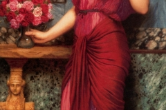An Offering to Venus - John William Godward, 1912.