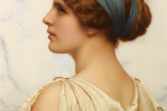 Atalanta - John William Godward, 1908.