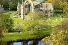 Bolton Abbey, Wharfedale, North Yorkshire, England