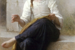Bouguereau, The dressmaker, 1898