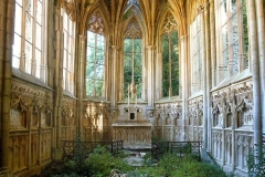 Chapelle de l'Ange au Violon, abandonnée en France, photo de Quentin Chabrot