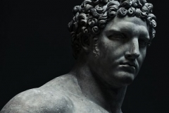 Marble statue of a youthful Hercules, Early Imperial, Flavian (A.D. 68–98)