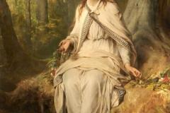 Ophelia, Thomas Francis Dicksee  (1873)