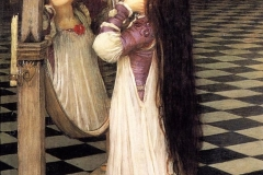 Mariana in the South, John William Waterhouse (1897)