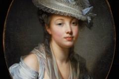 Le Chapeau blanc, Jean-Baptiste Greuze (1780)