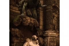 Polyphemus surprenant Acis et Galatea, Auguste Ottin (1866)