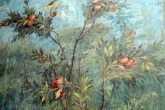 fresques murales de la Villa Livia, à Rome. Ier siècle. Vue n°4