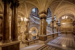 Glasgow City Chambers Staircase photo by Michael D Beckwith