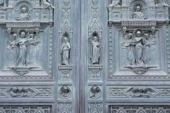 Heaven's Doors. Santa Maria della Fiore. Florence, Italy (XVe century)