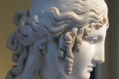 Helen of Troy by Antonio Canova (1757 – 1822). Victoria and Albert Museum, 1819