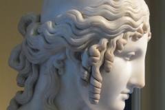Helen of Troy by Antonio Canova (1757 – 1822). Victoria and Albert Museum, 1819