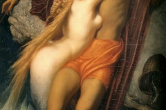 Le Pêcheur et la Sirène, Leighton 1856-58