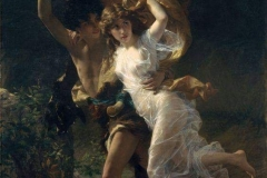 Pierre Auguste Cot, The Storm 1880, (1837-1883).