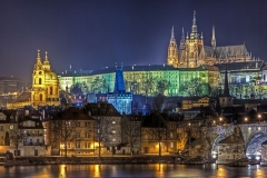 Prague Castle is a castle complex in Prague, Czech Republic, dating from the 9th century.