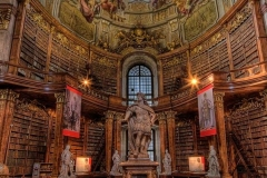 The Austrian National Library is the largest library in Austria
