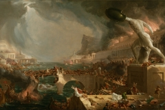 The Course of Empire ; Destruction (1836)