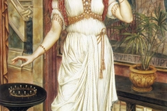 The Crown of Glory - Evelyn De Morgan, 1896.