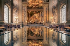 The Painted Hall in Greenwich.