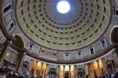 The Pantheon has been standing for 1889 years, the worlds largest UNREINFORCED concrete dome