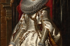 The Portrait of Marchesa Brigida Spinola-Doria is an oil painting by Peter Paul Rubens, dating to 1606. I