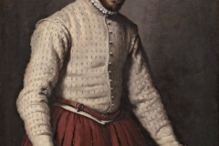 The Tailor (Il sarto in Italian) is one of the better known portraits by Giovanni Battista Moroni. It was created between the years 1565 and 1570.