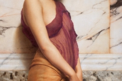 The Tambourine Girl, 1906 by John William Godward.