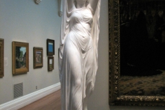 Undine Rising from the Waters, ca. 1880–1882, by Chauncey Bradley Ives