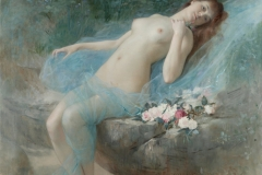 Une fleur A Flower, Croatian Cvijet is a female nude painted in 1887