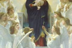 William Bouguereau - La Vierge avec les anges - 1900