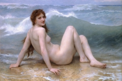 William Bouguereau - La vague - 1896