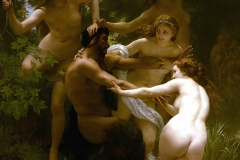 William Bouguereau - Les nymphes et le satyre - 1873
