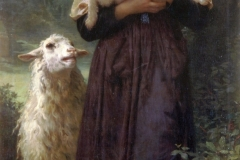 William Bouguereau - The Shepherdess