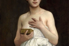 William Bouguereau (William-Adolphe Bouguereau) Pandora (1890).