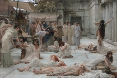 Women of Amphissa - Lawrence Alma-Tadema, 1887.