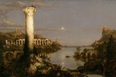 Cole Thomas  The Course of Empire: Desolation, 1836